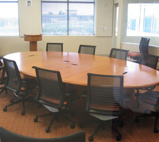Small Oval Conference Room Table
