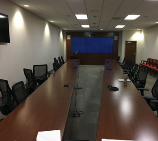 24ft Long Video Conference Table